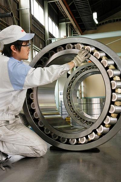 NSK藤沢工場大型軸受