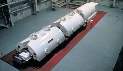 大容量地熱発電用二車室タービン