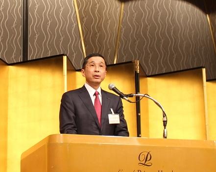 西川会長: 自工会・西川会長