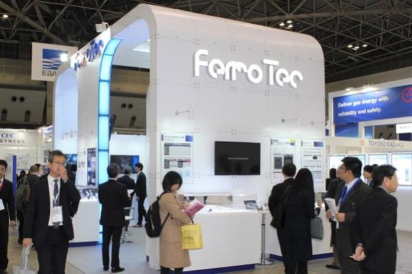 19010801フェローテックセラミックス: 「SEMICON Japan 2018」展示のようす