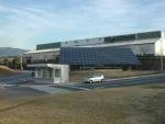 伊賀事業所に設置された太陽光発電装置