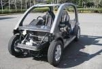 帝人「オール熱可塑性CFRPのコンセプトカー」