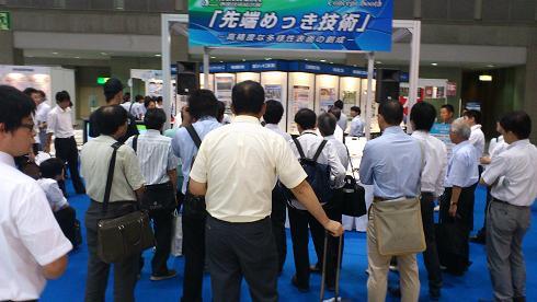 SURTECH 2011表面技術総合展のもよう