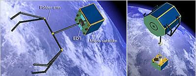 おそうじロボット衛星のイメージ