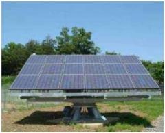 追尾型集光太陽電池モジュール