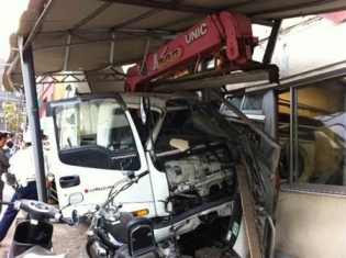 熱海トラック事故車両