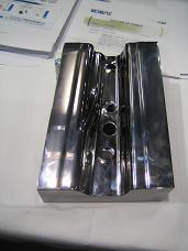 神戸製鋼所のブース