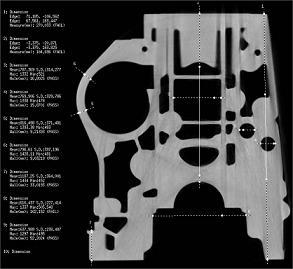 エンジンブロックの内部寸法チェック