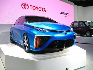 トヨタ自動車「FCVコンセプト」