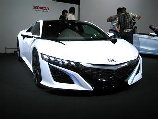 ホンダ「新型NSXコンセプト」