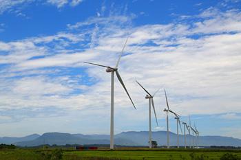 ホンダの稼働開始した風力発電拠点
