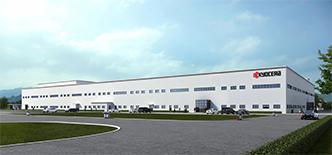 京セラ「新工場の完成予想図 」