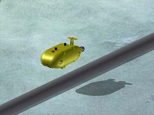 川崎重工業「AUVのイメージ」