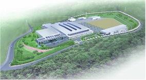 アマダホールディングス「新工場のイメージ」