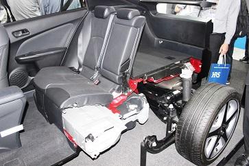 トヨタ自動車のブース