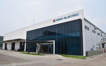 日新電機「ベトナムの第2工場外観」