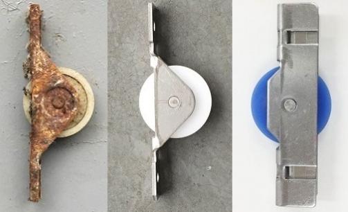 中西金属工業が提案した戸車によるサッシのリフォーム