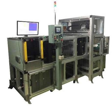 日本電産トーソク「インライン3Dスキャナー方式コネクティングロッド外観検査装置」