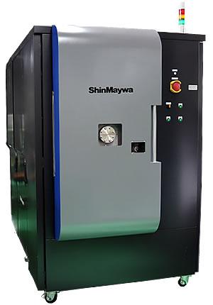 新明和工業が開発したダイヤモンドコーティング装置