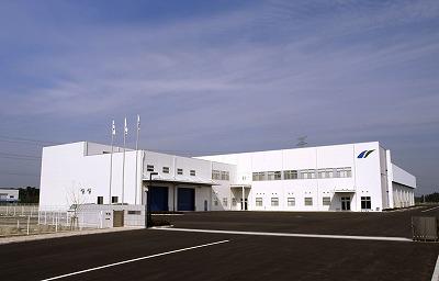 日新電機「滋賀事業所・プラズマ技術開発センター外観」