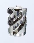 刃先交換式・深切込み加工用エンドミル