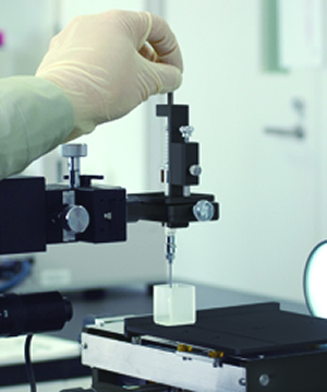 協和界面科学「受託測定のイメージ」